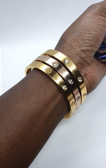 Fragrantly titanium armband