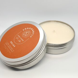 Fragrantly scented candle Relax nr.9 Signature collection