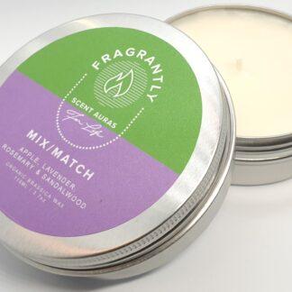 Mix Match nr 7 - Apple, Lavender, Rosewood & Sandalwood geur