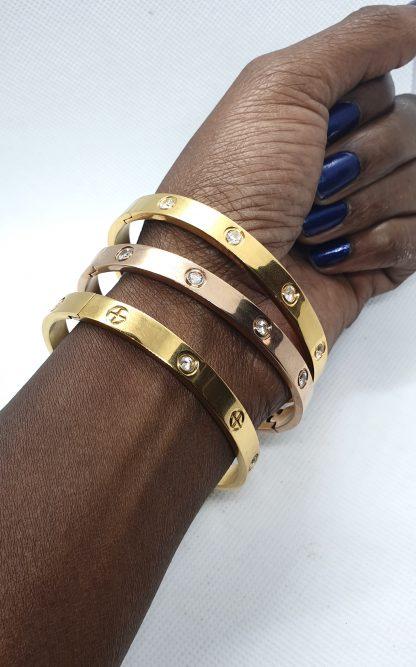 Verschillende titanium armband sieraad van Fragrantly