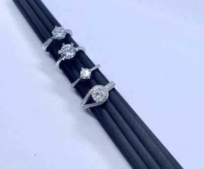 Sparkle Rings op zwart