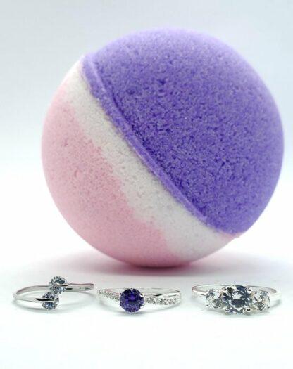 925 zilveren ring in een Fragrantly bruisbal