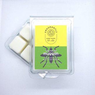 Anti-muggen wax blokjes - Fragrantly