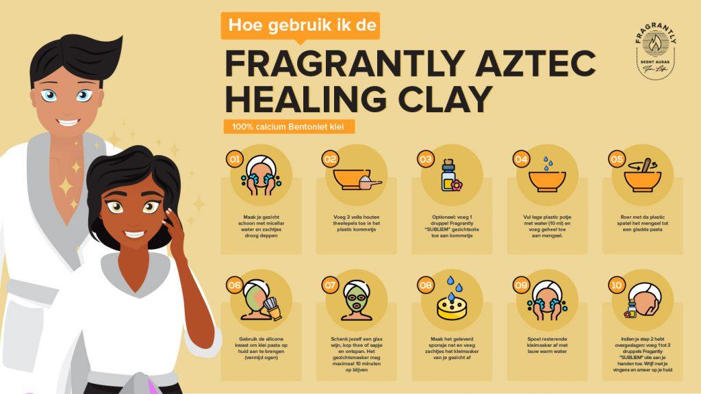 Fragrantly Aztec Healing Clay - Nederlands